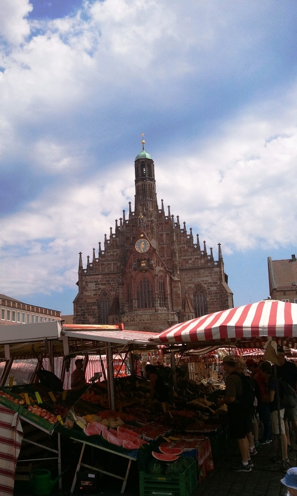 Nuremberg, Germany, Nürnberg, Deutschland, Hauptmarkt, central market, travel, photography, TS76