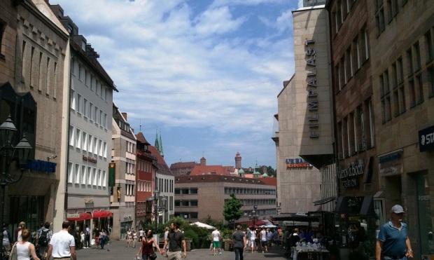 Nuremberg, Germany, Nürnberg, Deutschland, Königstrasse, King's Street, pedestrian street, travel, photography, TS76