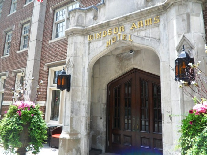 Windsor Arms, Hotel, Toronto, Ontario, Discover ON, travel, photography