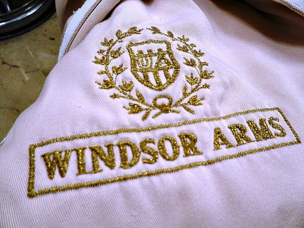 Windsor Arms Hotel, spa, bath robe, toronto, ontario, ca