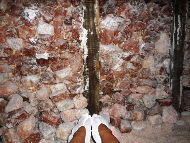 Windsor Arms Hotel, spa, Healing Salt Cave, toronto, ontario, Canada, TS76