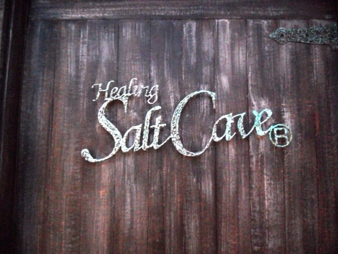 Toronto. Ontario, Windsor Arms, Hotel, Spa, Healing Salt Cave, Door, logo