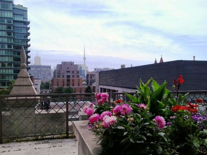 Toronto, Ontario, Windsor Arms, hotel, spa, afternoon tea, terrace, view, skyline, photography, TS76