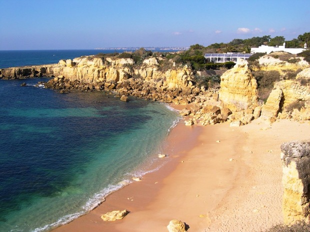 Beach, Algarve, Portugal, photography, travel