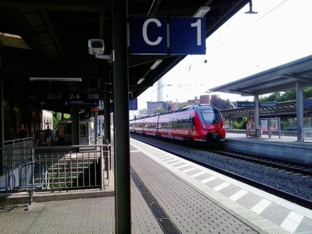 Erlangen, Germany, hauptbanhof, main train station