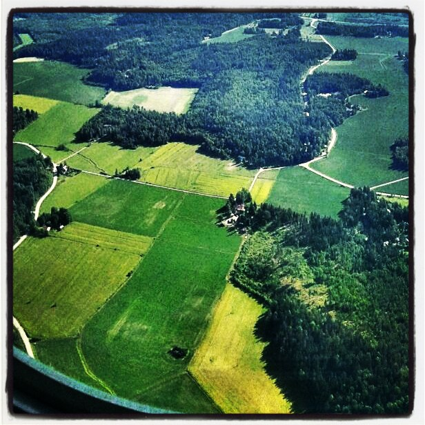 aerial view, Finland, country side,Finnish country side, travel, photography, TS76