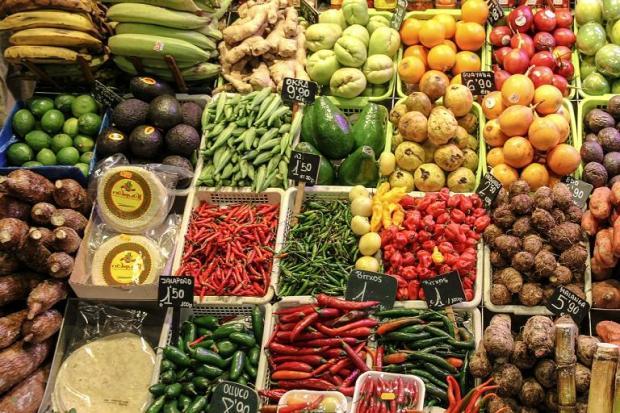 market, fresh, fruit, vegetables, food, healthy food, photography