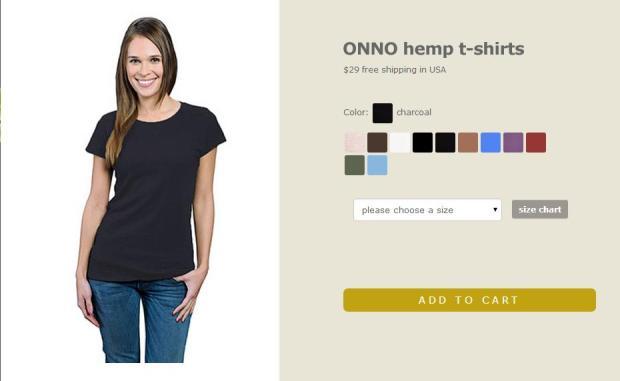 ONNO, ONNO t-shirts, hemp t-shirt, black t-shirt, t-shirt