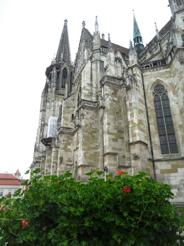 St-Peter's Cathedral. Regensburg, Germany, Deutschland, altstadt, travel, photography, TS76