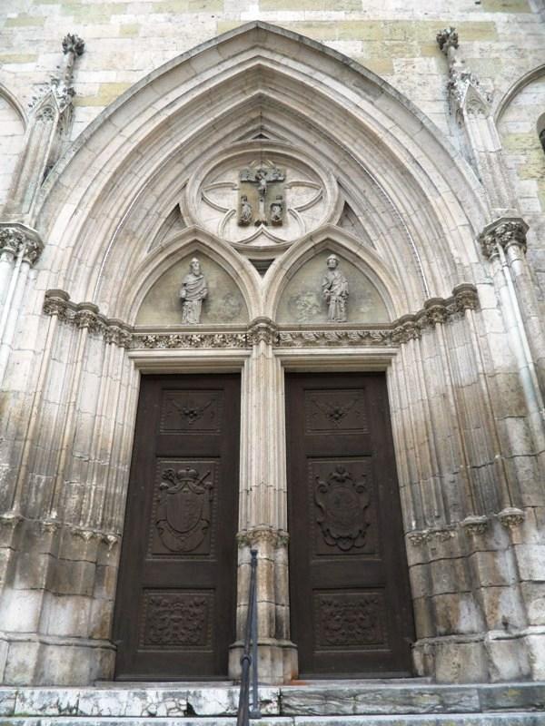 St-Peter's Cathedral. Regensburg, Germany, Deutschland, altstadt, travel, photography, TS76