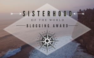 Award, Sisterhood of the World Blogger Award, Blogger Award, travel, photography