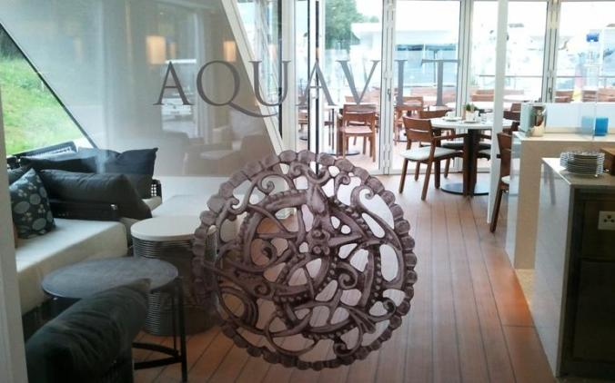 Viking Cruises, Viking Atla, Longship, Aquavit Logo, Aquavit lounge, river cruise