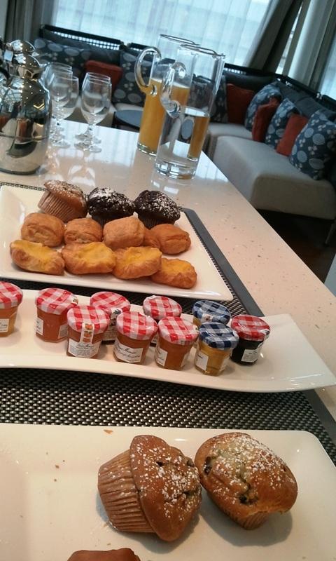 Viking Cruises, Viking Atla, Longship, breakfast, buffet, river cruise
