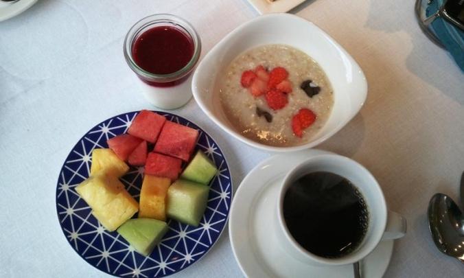 Viking Cruises, Viking Atla, Longship, breakfast, river cruise