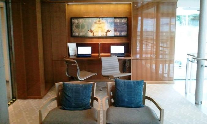 Viking Cruises, Viking Atla, Longship, computer stations, river cruise