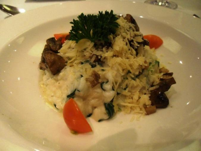 Viking Cruises, Viking Atla, Longship, river cruise, welcome dinner, mushroom risotto, foodie, photography