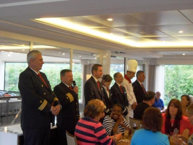 Viking Cruises, Viking Atla, Longship, river cruise, welcome toast