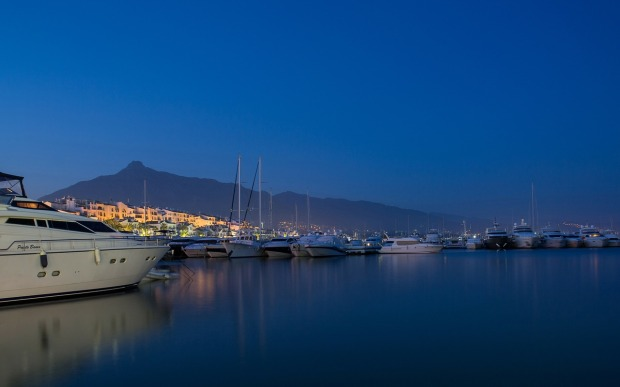 Yachts, Marbella, Spain, sunset, travel, photography