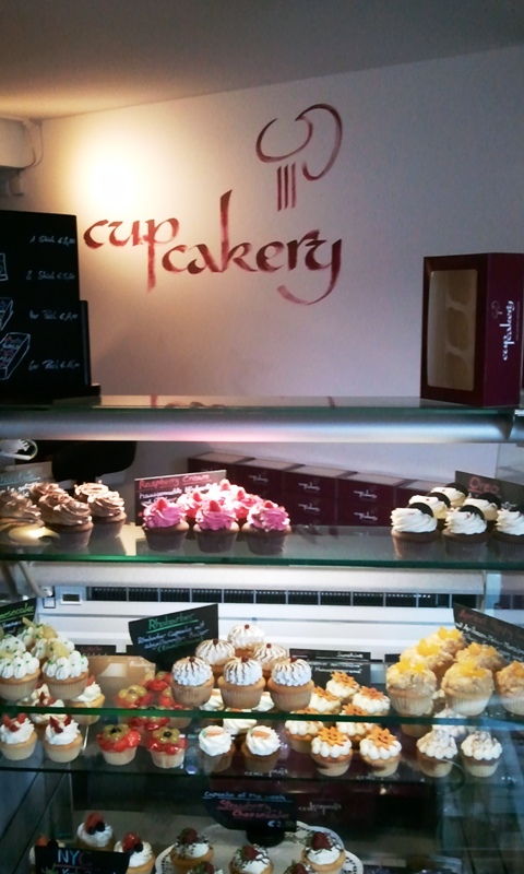 cupcakery, Regensburg, Germany, cupcakes, bakery, coffee shop, travel, photography, TS76