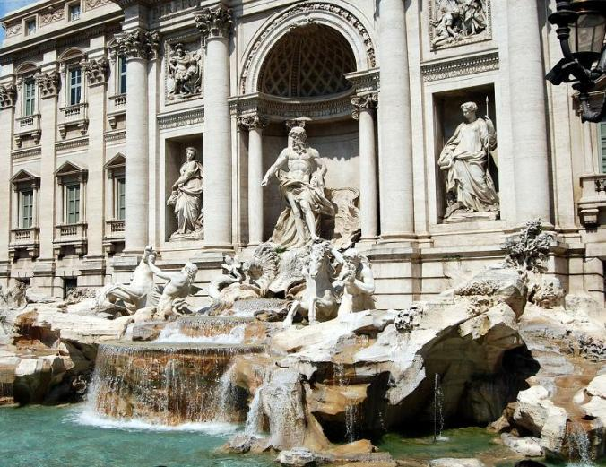 Fontana di Trevi, Trevi Fountain, Rome, Roma, Italy, Italia, travel, photography