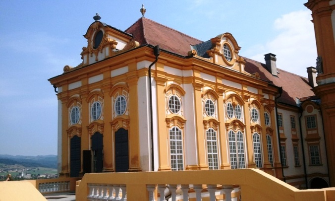 Architecture, façade, library, Melk Abbey library, Viking River Cruises, Melk Abbey, Stift Melk, architecture, Melk, Austria, travel, photography, TS76