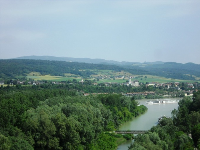 Danube, views, river, austrian countryside, Viking River Cruises, Melk Abbey, Stift Melk, architecture, Melk, Austria, travel, photography, TS76