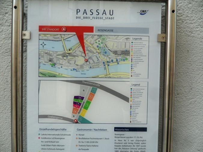 map, Passau, Germany, Deutschland, Europe, Europa, river cruise, travel, photography, visit bavaria, Bayern, TS76