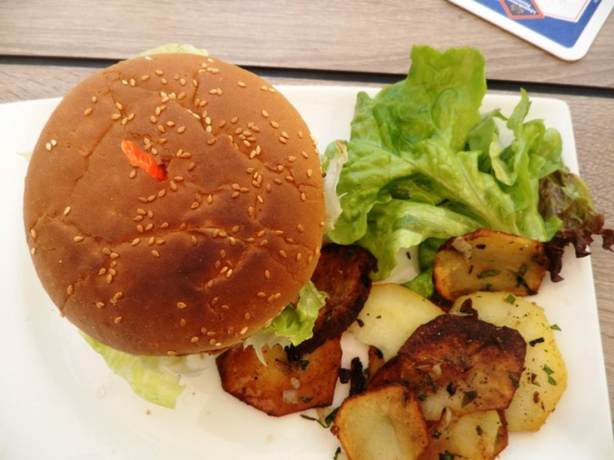 Selly's vegan bar, Selly's veggie burger, foodie, food photography, foodpics, Passau, Germany, Deutschland, Europe, Europa, river cruise, travel, photography, visit bavaria, Bayern, TS76