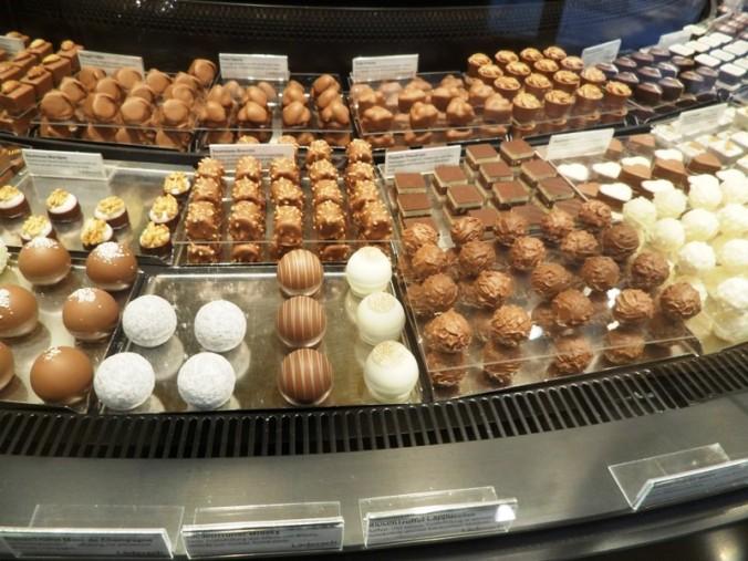 Regensburg, Germany, Läderach chocolates, chocolate, sweets, photography, TS76