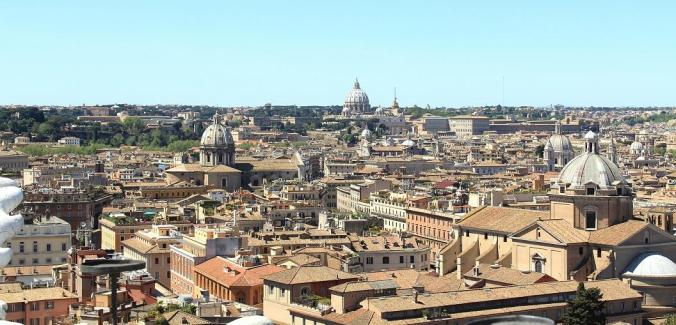 View, Rome, Vatican, italy, travel, photography, rooftops