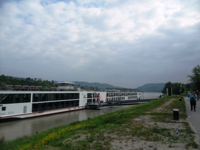 Viking River Cruises, Viking Atla, Dock, Melk, Austria, travel, photography, TS76