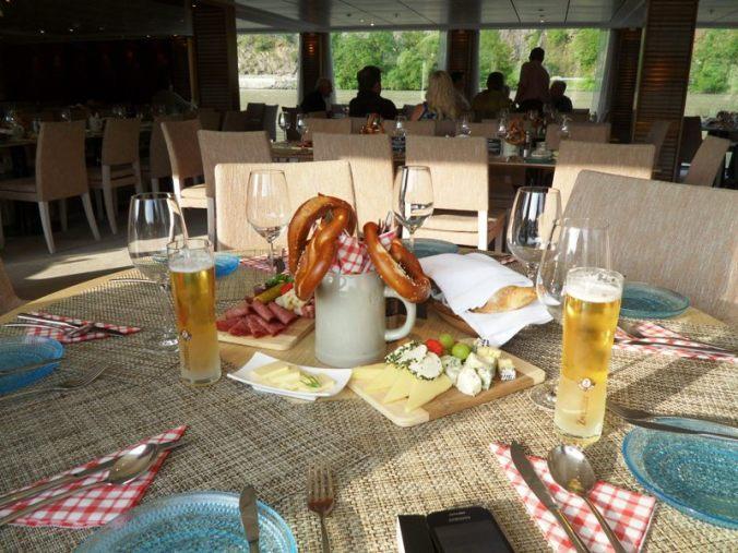 Viking Cruises, Viking Atla, Austrian food, food, foodie, Austrian themed, dinner, photography, TS76