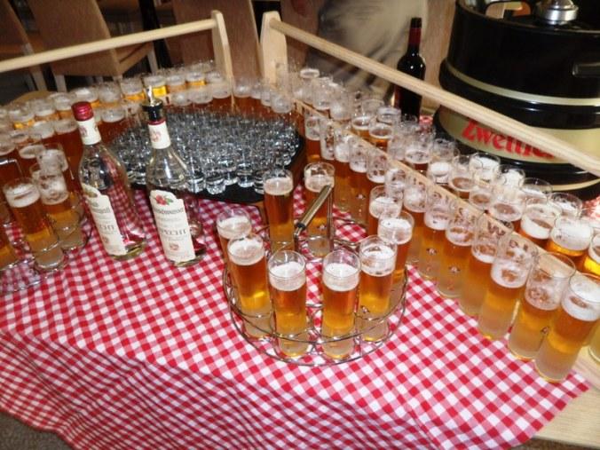 Viking Cruises, Viking Atla, Austrian beer, beer, foodie, Austrian themed, dinner, photography, TS76