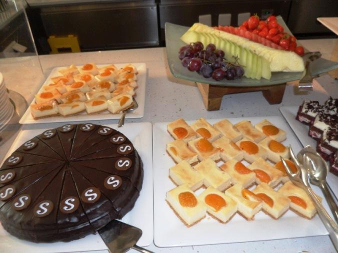 Viking Cruises, Viking Atla, Austrian food, food, foodie, dessert, sweets, pastries, fresh fruit, Austrian themed, dinner, photography, TS76