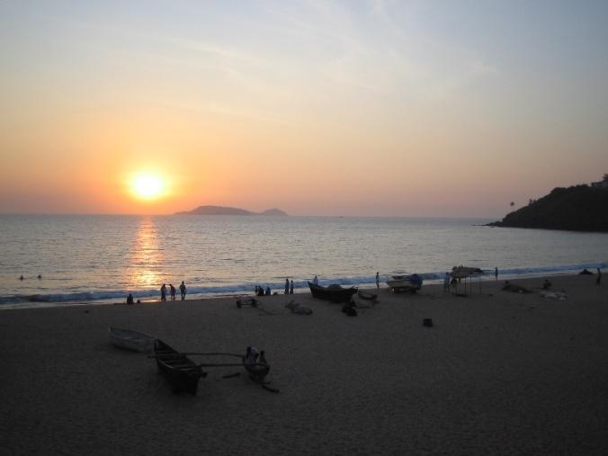Bogmalo, sunset, Mormugao, Goa, India, travel, photography