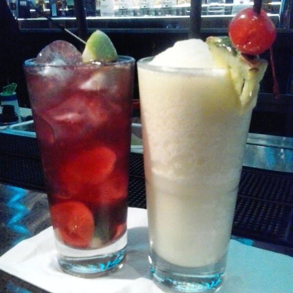 Drinks, Hard Rock Café, Budapest, Hungary, TS76