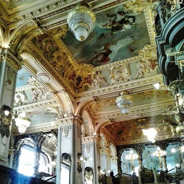Frescoes, interior design, New York Café, Café, Budapest, Hungary, hotel, travel, photography, TS76