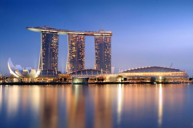 Marina Bay Sands, Singapore, travel, photography