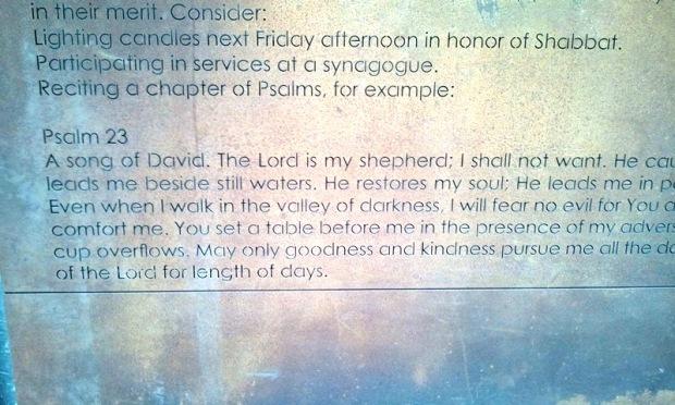Psalm 23, Dohany street Synagogue, Budapest, Hungary, religion, spirituality, TS76