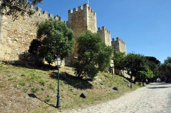 Sao Jorge Castle, castle, Lisbon, Portugal, travel, photography
