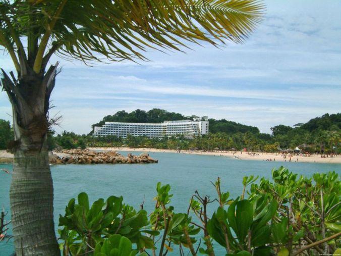Sentosa Island, Siloso beach, travel, photography