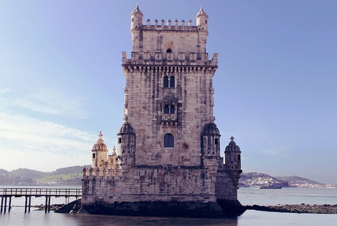 Torre de Bélem, Bélem Tower, Lisbon, Portugal, travel, photography