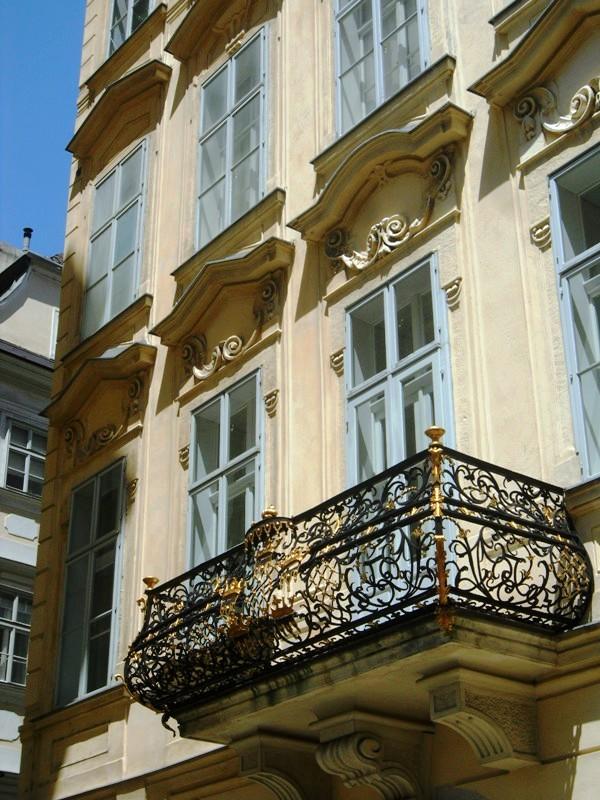 balcony, Vienna, Austria, Wien, Österreich, reise, travel, photography, architecture, TS76