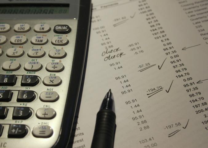 finances, personal finances, accounting, balances, calculator, statement