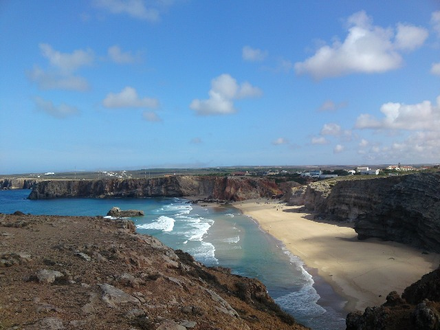Algarve, Portugal, beach, cliffs, travel, photography