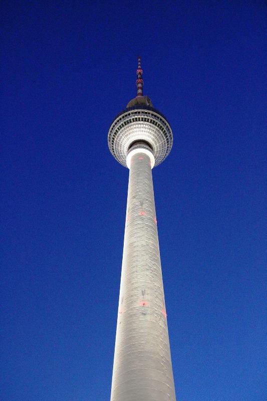 Berlin, Berlin TV Tower, Fernsehturm, Deutschland, Germany, structure, architecture