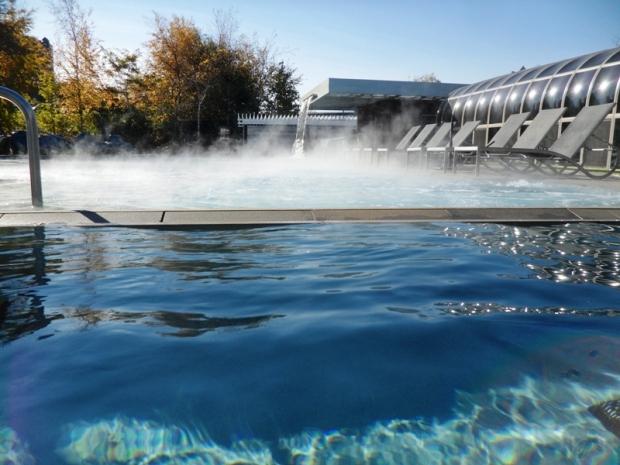 pool, cold pool, outdoor, Bota Bota, Spa, Bota Bota Spa-sur-l'eau, Montreal, Quebec, Canada, wellness, spa travel, travel, photography, TS76