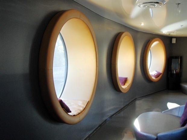 hublots, relaxing spaces, Bota Bota, Spa, Bota Bota Spa-sur-l'eau, Montreal, Quebec, Canada, wellness, spa travel, travel, photography, TS76