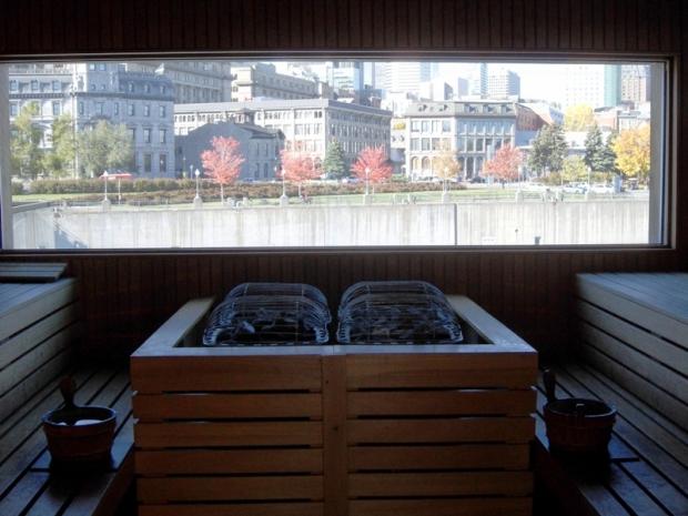 Finnish sauna, sauna, sauna with a view, Bota Bota, Spa, Bota Bota Spa-sur-l'eau, Montreal, Quebec, Canada, wellness, spa travel, travel, photography, TS76