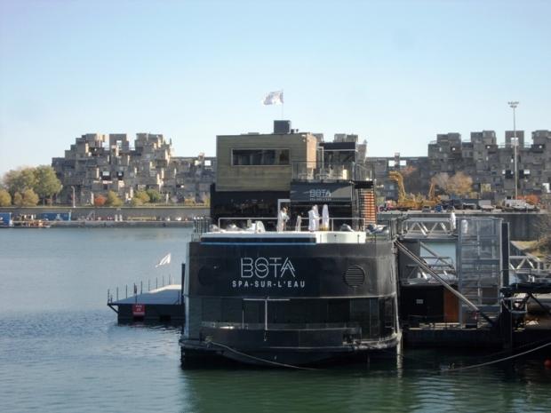Bota Bota, Spa, Bota Bota Spa-sur-l'eau, Montreal, Quebec, Canada, wellness, spa travel, travel, photography, TS76